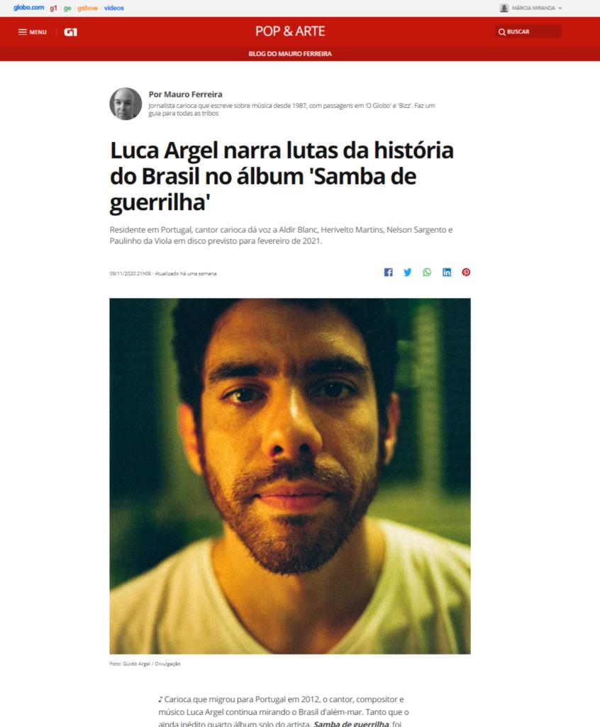 Samba de Guerrilha - Luca Argel