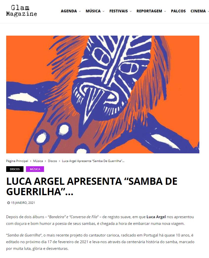 Samba de Guerrilha_Glam Magazine
