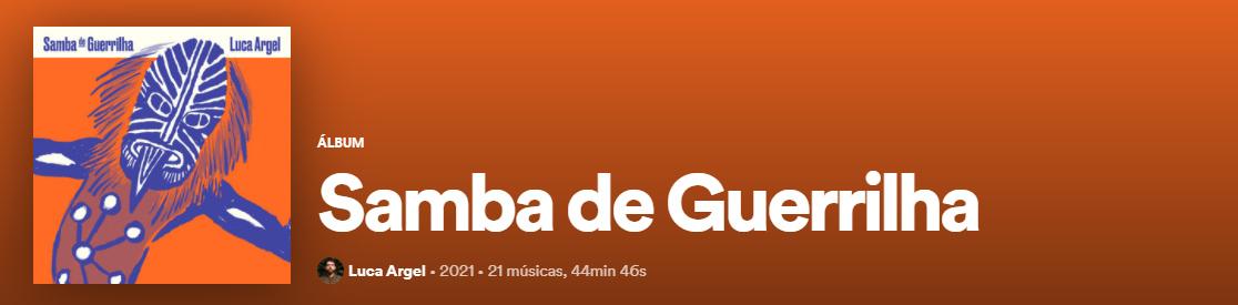 samba de guerrilha-spotify