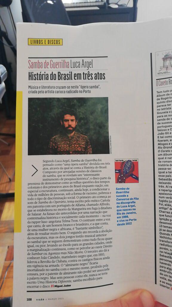 Samba de Guerrilha_Revista-Visão