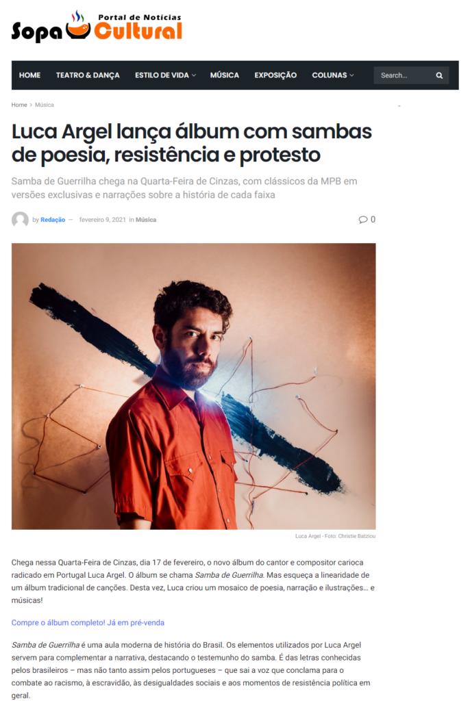 Samba de Guerrilha _ Sopa Cultural